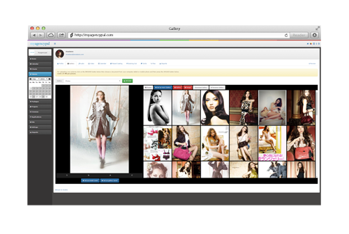 booking software, modeling software - model gallery